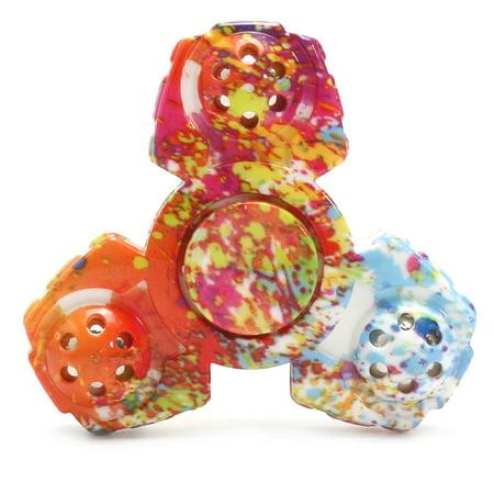 Tri Fidget Hand Spinner Figit Focus Toy EDC Focus ADHD Autism Boy Girl Toy - Spinner Ball