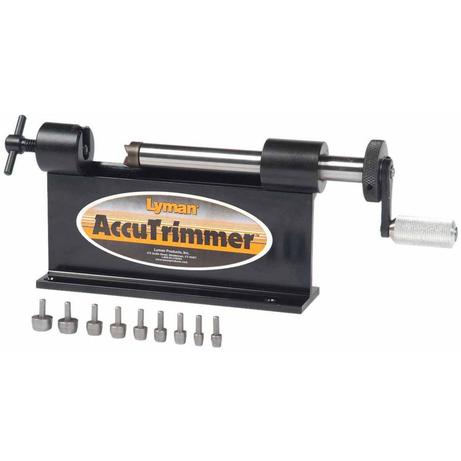 Lyman #7862210 Reloading Accutrimmer with 9 Pilot, Multi-Pack by Generic