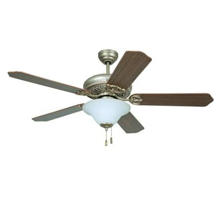 Ellington Fans Man52 Manor 54  5 Blade Hanging Indoor Ceiling Fan With Reversibl