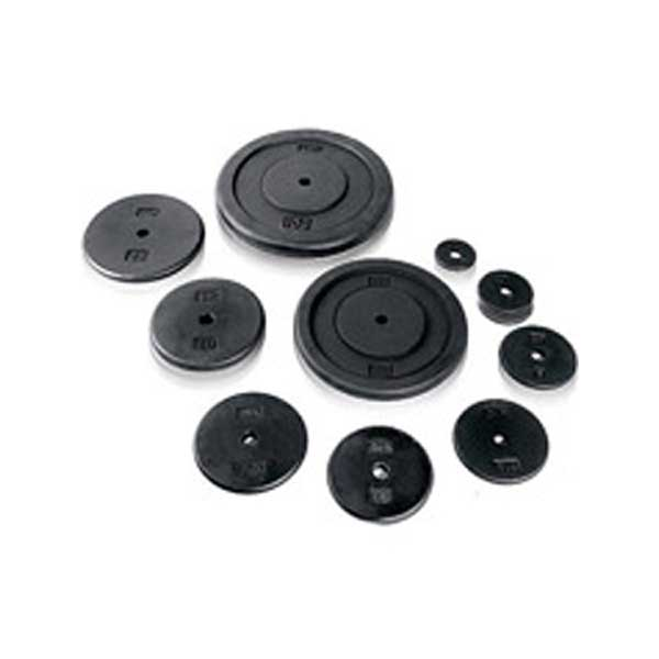 CanDo Iron Disc Weight Plate for Home Gym and Professional Use.