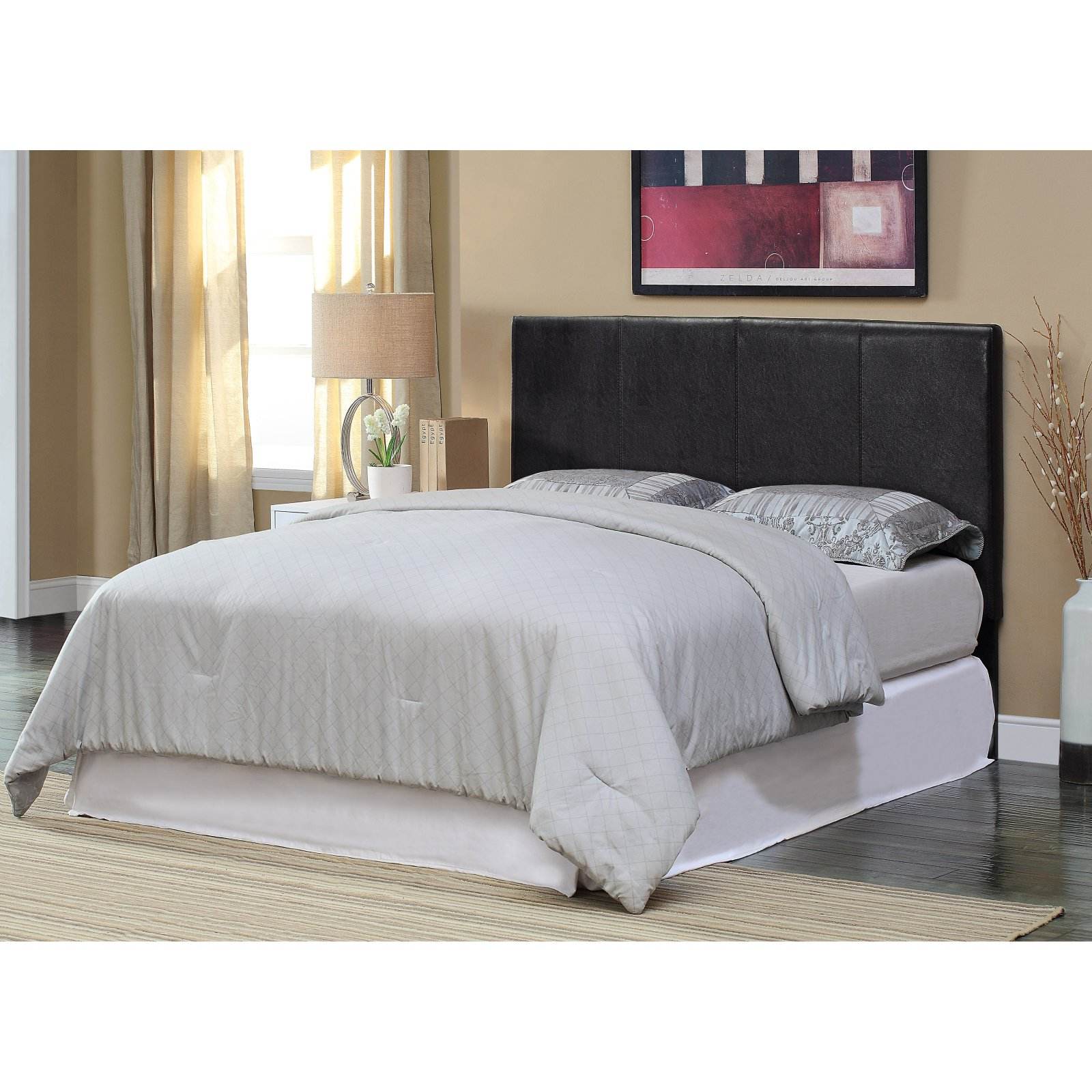 Furniture of America Huntington Upholstered Headboard - Espresso