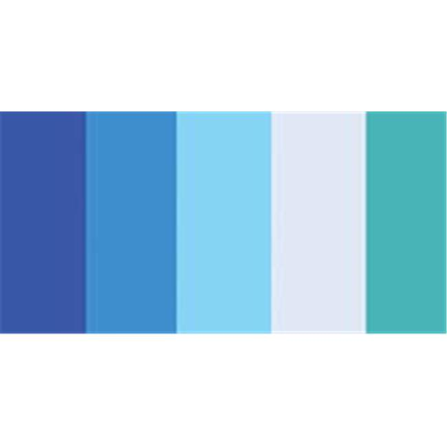 Blues Quilling Paper Mixed Colors, 0.25 in. - 100 per Pack - image 1 de 1