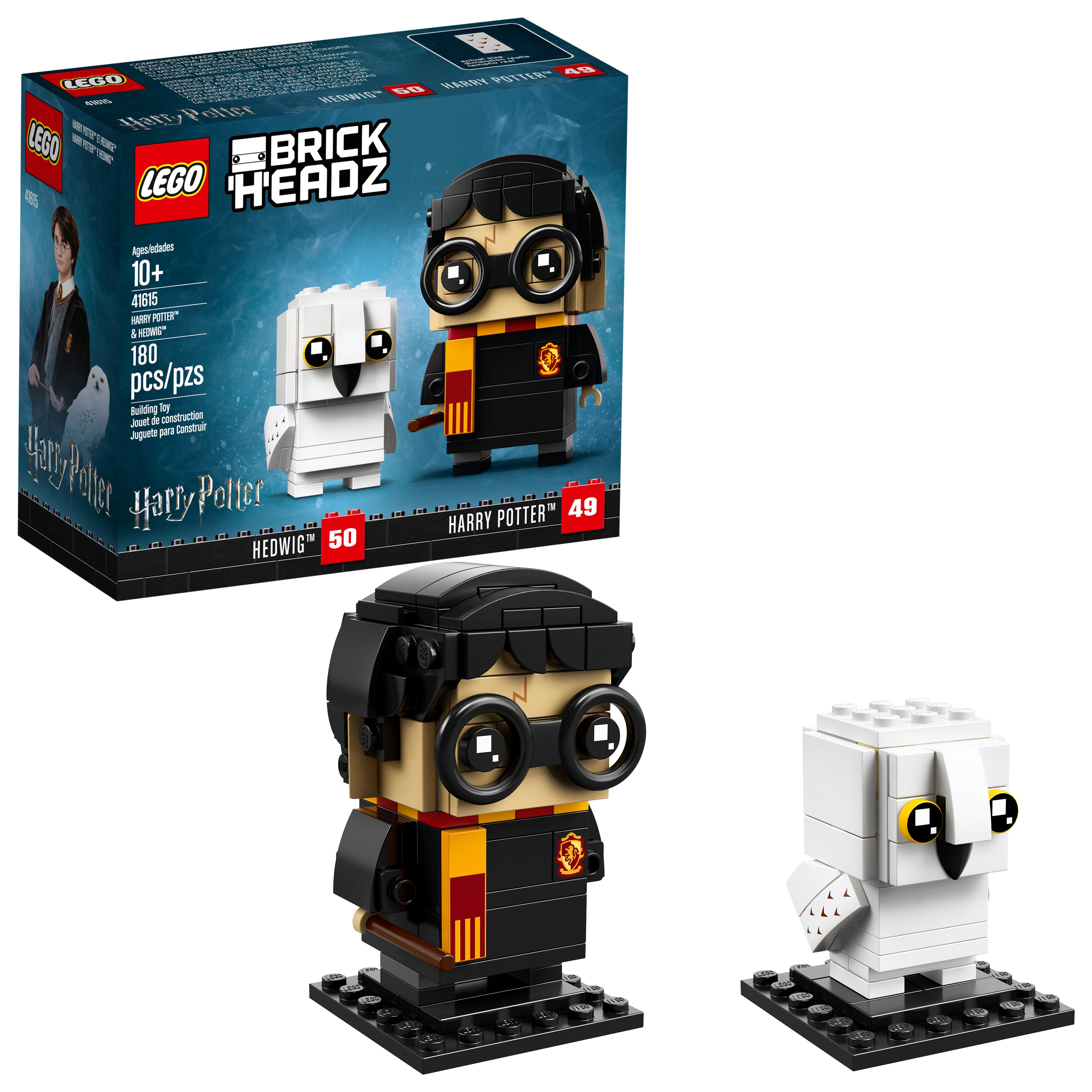 Lego brickheadz harry potter & hedwig 41615