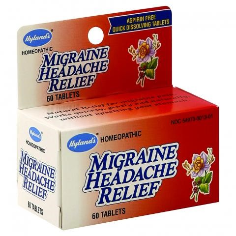 Dissolvable headache tablets