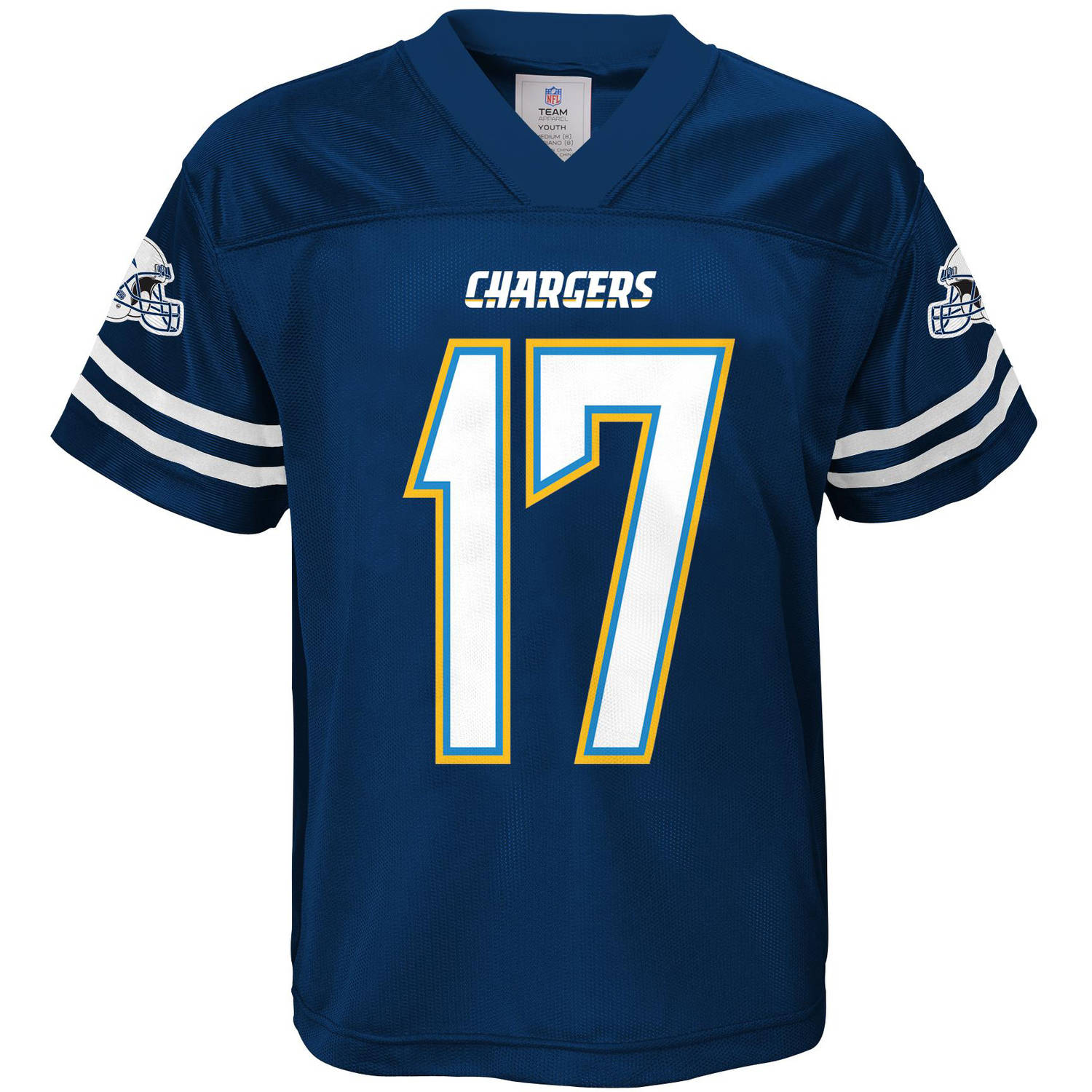 NFL Boys' San Diego Chargers P Rivers Player Jersey