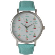 Colorful Sailboats Watch