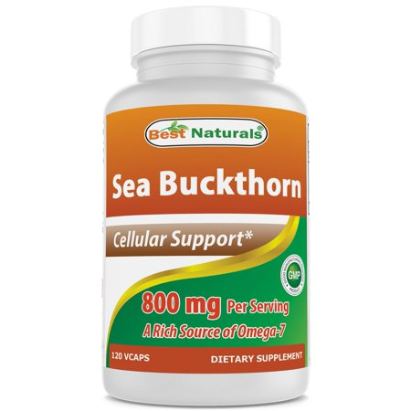 Best Naturals Sea Buckthorn 800 mg/serving 120 Vegi (Best Over The Counter Medicine For Male Yeast Infection)
