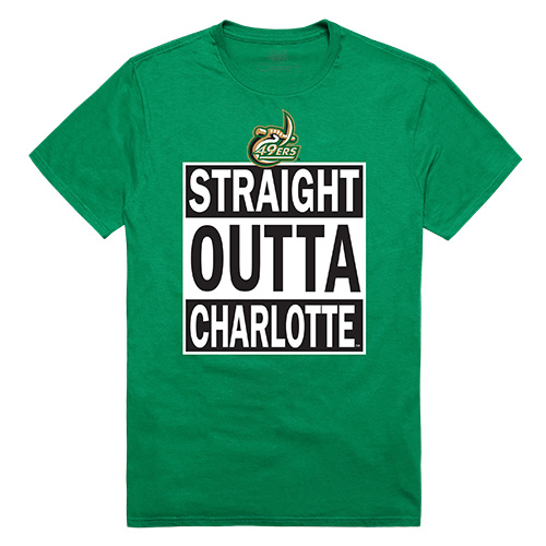 University of North Carolina at Charlotte 49ers NCAA Straight Outta T-Shirt