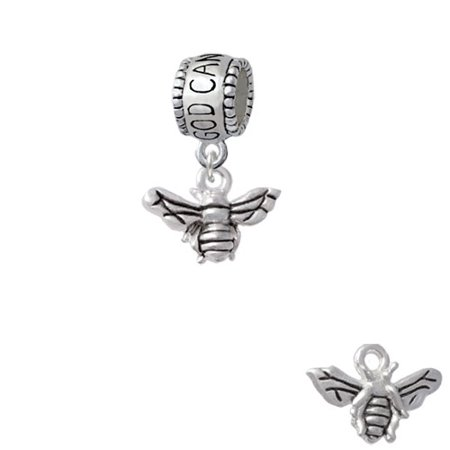 Small 3-D Bee - God Can Charm Bead - Bee Charms