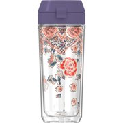 Thermos TP4108PS6 18-Ounce Patina Vie Double-Wall Hydration Bottle (Posy Shimmer)