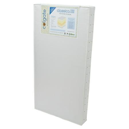 Colgate Classica III Dual Firmness Foam Crib - Adjustable Firmness Mattress