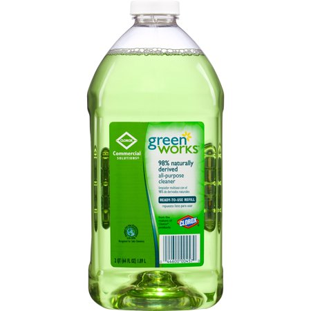 Green Clean - Green Works All-Purpose Cleaner, Green, 1 Each