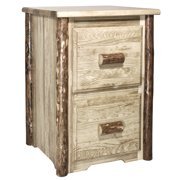 Glacier Country Collection 2 Drawer File Cabinet