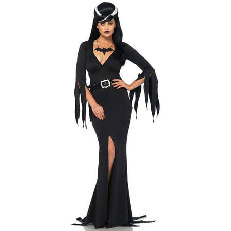 Mistress Of The Dark Costume (Leg Avenue Women's Immortal Morticia Mistress of the Dark)