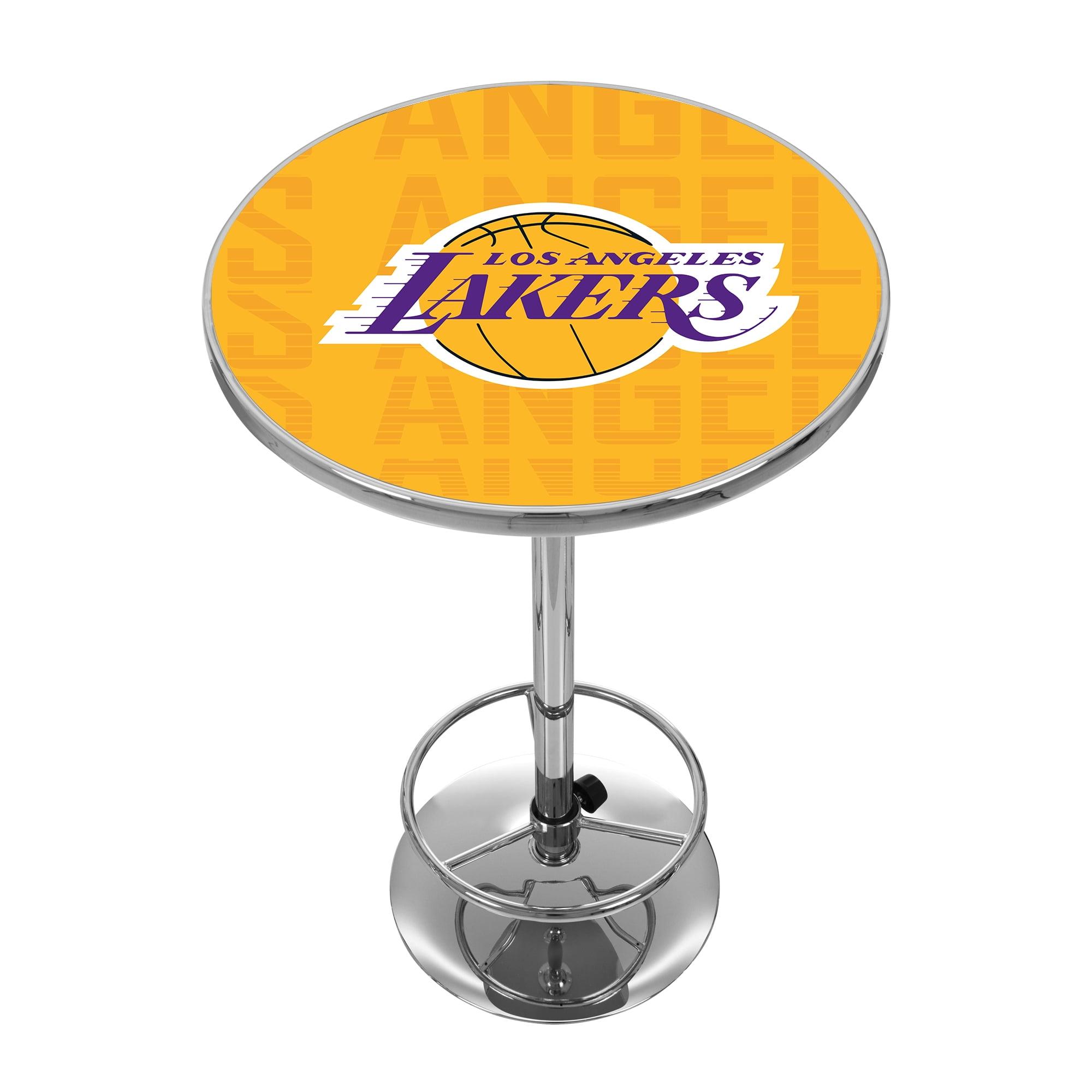 NBA Chrome Pub Table - City - Los Angeles Lakers