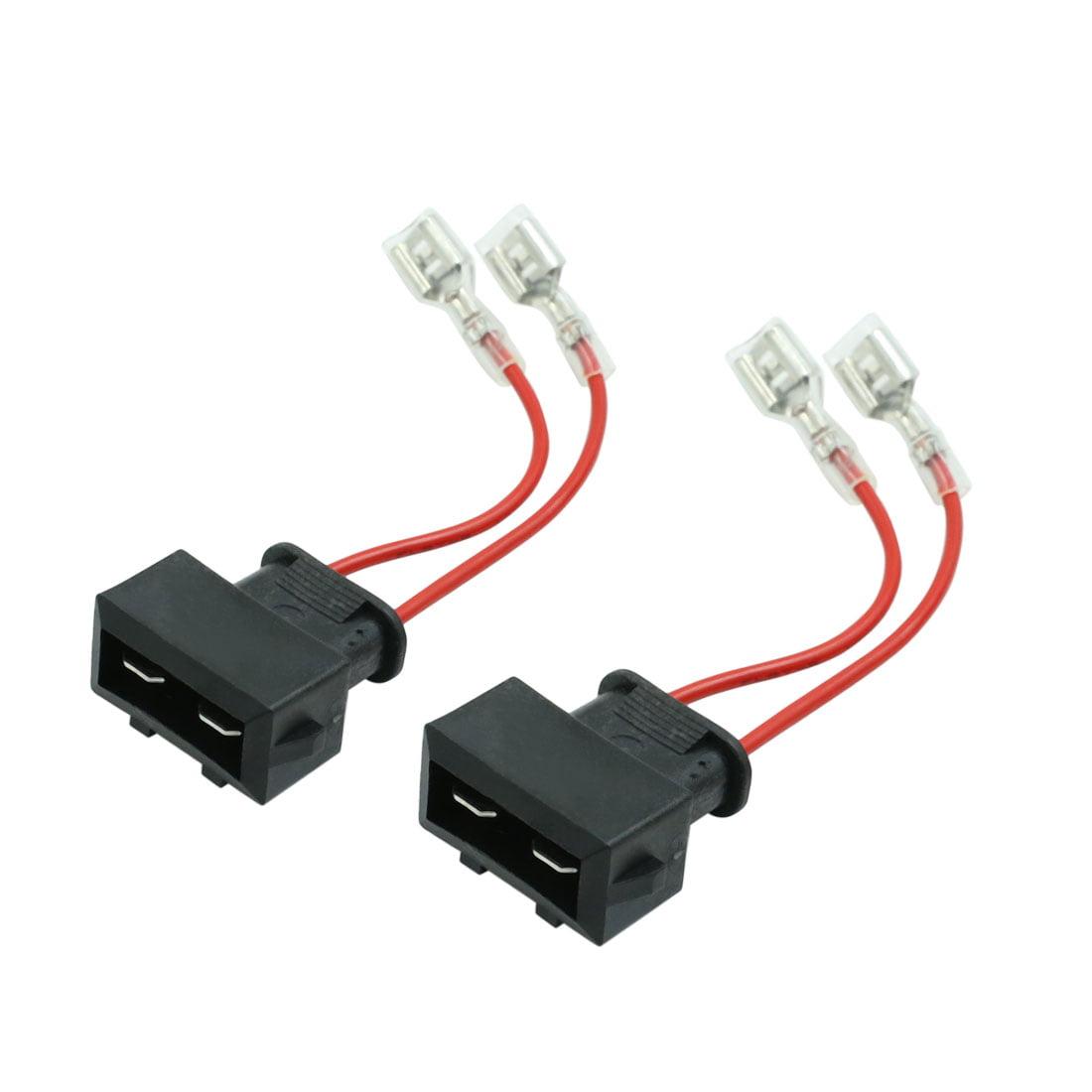 DC 12V Car Speaker Wire Harness Adapter Connector for Volkswagen Passat 2pcs - image 4 de 4