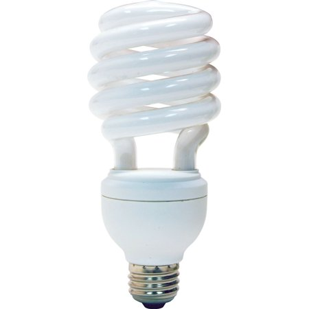 GE Lighting 78952 Energy Smart CFL 3-way Soft White 16/25/32-Watt (40/75/125-watt replacement) T3 Spiral Light Bulb with Medium Base,