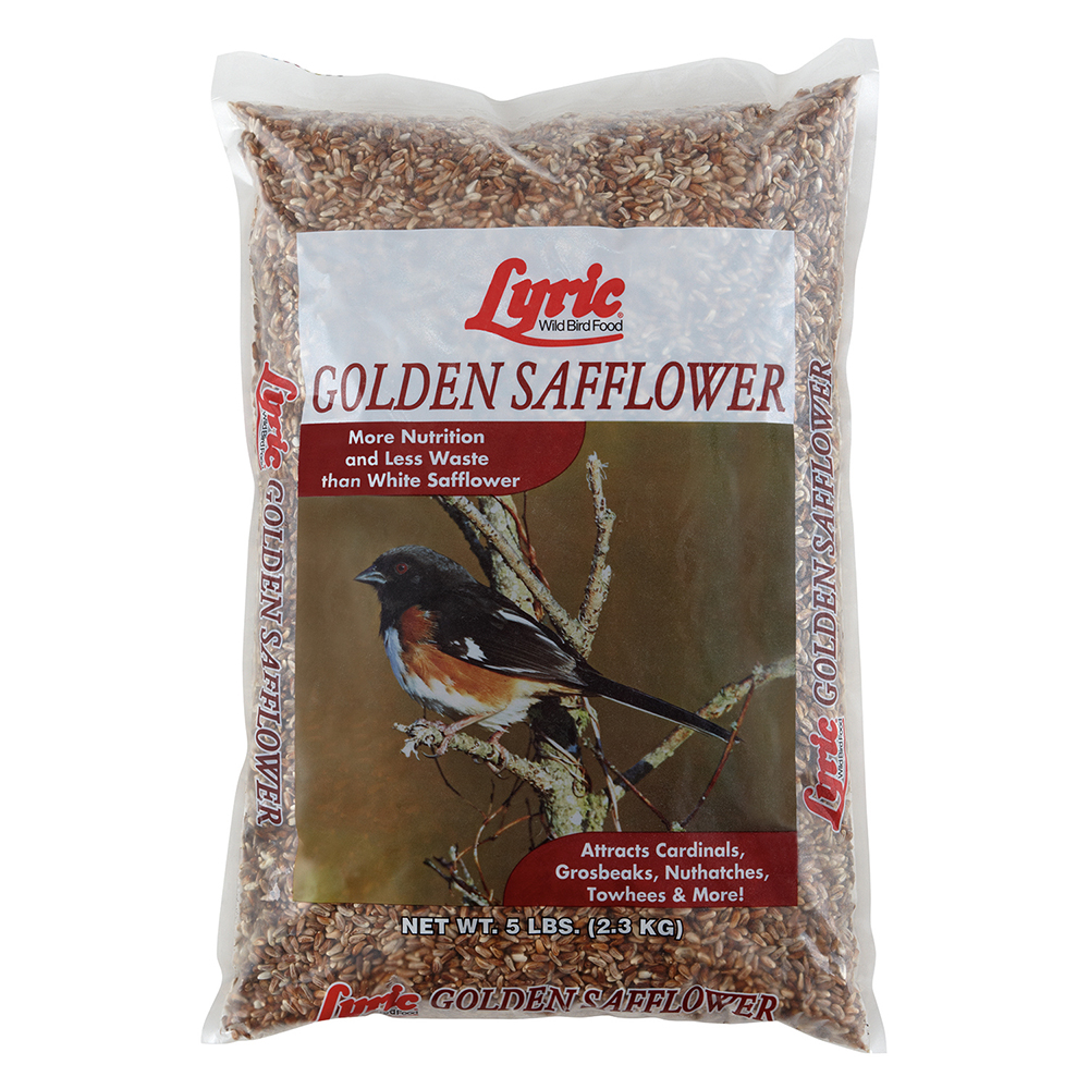 Lyric Golden Safflower Seed - 5 lb. bag