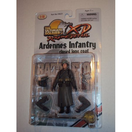 Ultimate Soldier Ardennes Infantry Closed Long Coat By 21st Century Toys From USA 21st Century Toys Ultimate Soldier