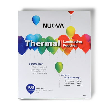 Nuova Premium Thermal Laminating Pouches, 9