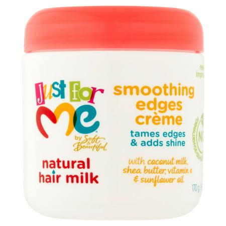 Just For Me par Soft & Belle Lait cheveux naturels Lissage Edges Crème, 6 oz