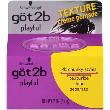 Got2b Playful Hair Texturizing Pomade, 2 Ounce
