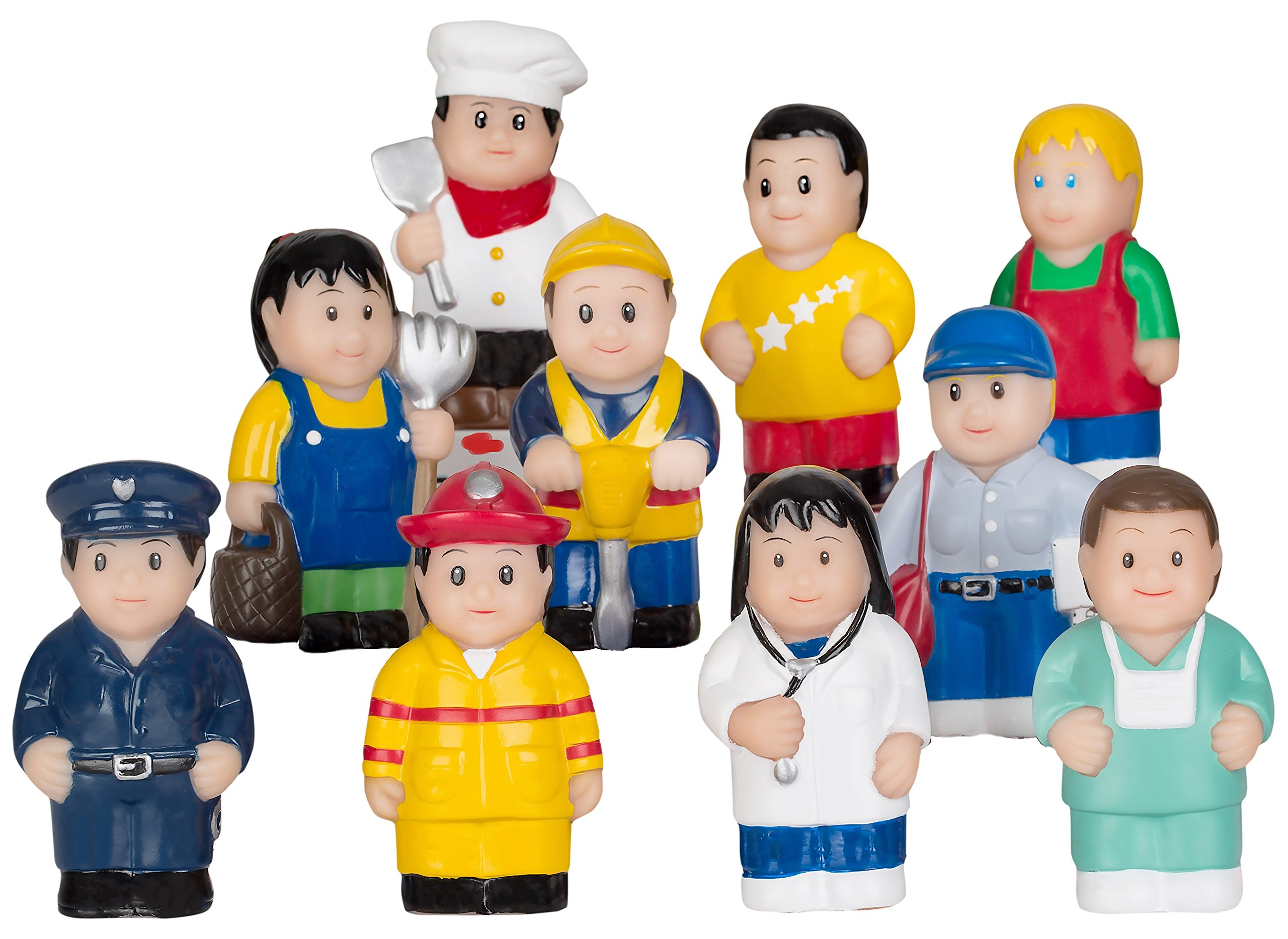 Menchies Little Kids Figures Playset Little Kids Community Play Figures Little Figures for... by Menchies