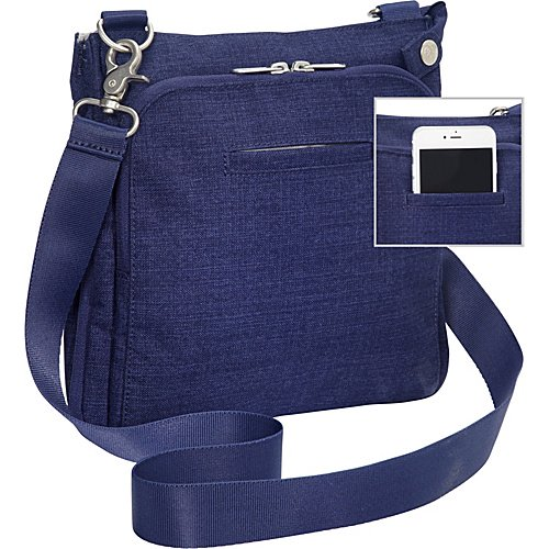 66d2d43c45be eBags Villa Crossbody 2.0 with RFID Security - Walmart.com