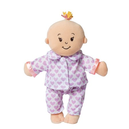"""Best Wee Stella Story Time 12"""" Baby Doll Pajama Set By Manhattan Toy deal"""