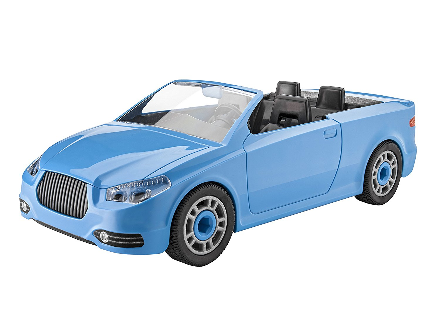 Junior Police Car Model Kit, Silver, Kid-friendly model construction kit that promotes the... by