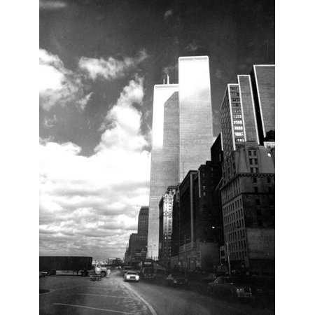 Twin Towers, World Trade Center (WTC), New York Print Wall Art ()