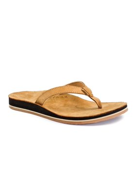 Revitalign Zuma - Women's Leather Sandal - Tan