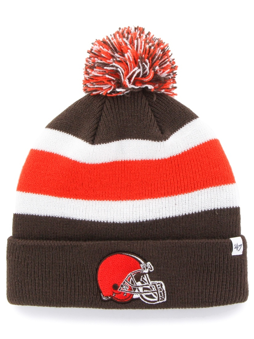 """Cleveland Browns 47 Brand NFL """"Breakaway"""" Throwback Cuffed Knit Hat by 47 Brand"""