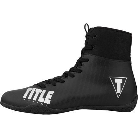 Title Boxing Predator II Lightweight Mid-Length Boxing Shoes - (Best Shoes For Boxing Fitness)