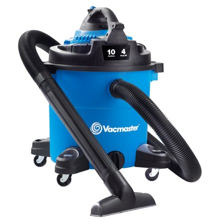 Vacmaster 10 Gallon 4 HP Wet/Dry Vacuum with Detachable