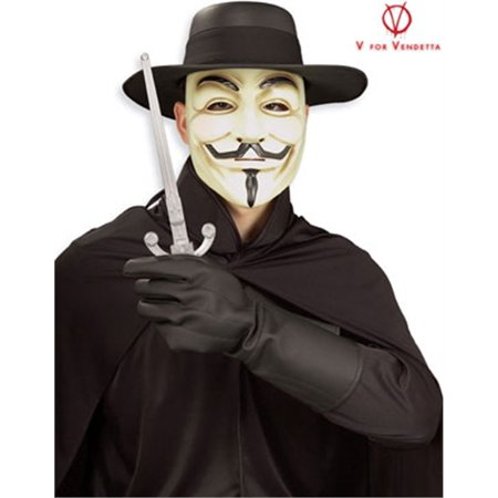 V for Vendetta Adult Halloween Costume - One Size