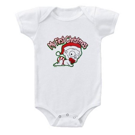 First Christmas Baby Bodysuit - H&m Halloween Baby