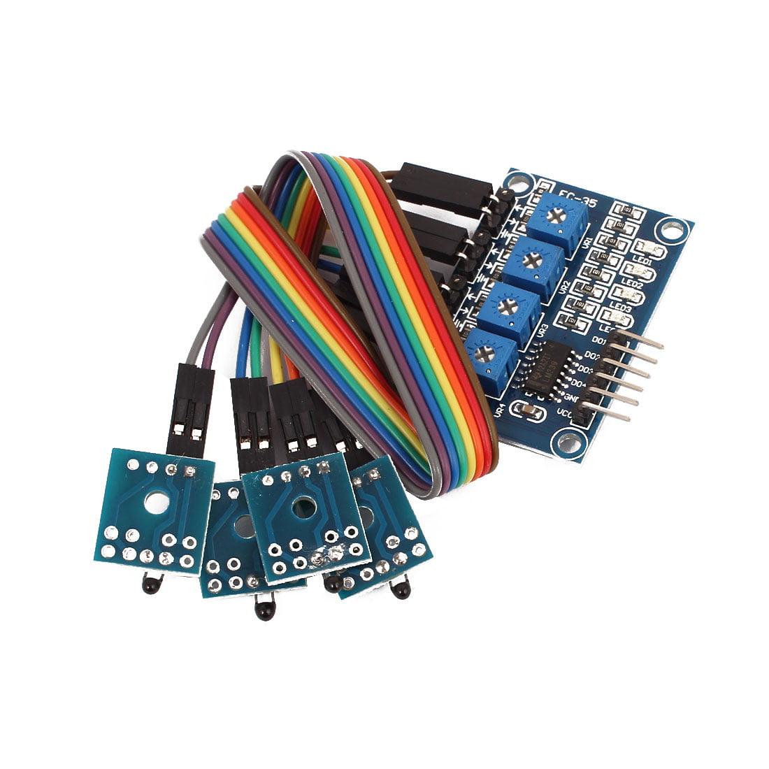 Hall Sensor  4-Way Switch Speed Counting Module - image 3 de 3