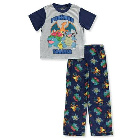 Pokemon Boys' 2-Piece Pajama Sleep Set