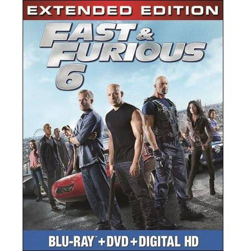 Fast & Furious 6 (Blu-ray   DVD   Digital Copy) (With INSTAWATCH)