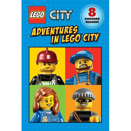 Lego City: Adventures in Lego City (Lego City: Reader Boxed Set) (Other) Read eight fun-filled, action-packed stories from LEGO(R) City!Follow the LEGO(R) City crew on their adventures underground, on the rails, in the air, on the sea, and out in space. Help the heroes put out forest fires and catch crafty crooks. Reading has never been this much fun! Includes 8 readers: -LEGO City: All Aboard!-LEGO City: Look Out Below!-LEGO City: All Hands on Deck!-LEGO City: Stop that Heist!-LEGO City: Ready for Takeoff!-LEGO City: 3, 2, 1, Liftoff!-LEGO City: Fire in the Forest!-LEGO City: Fire Truck to the Rescue!