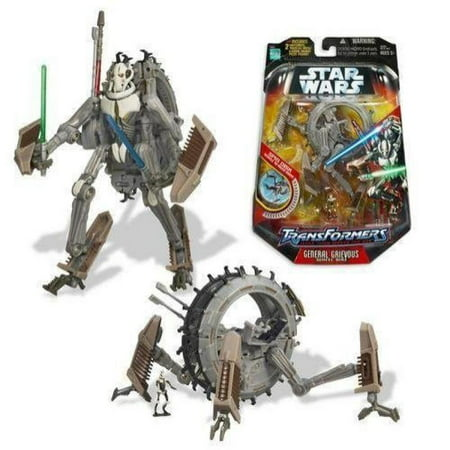 - Star Wars Transformer Figure, General Grievous Wheel-Bike