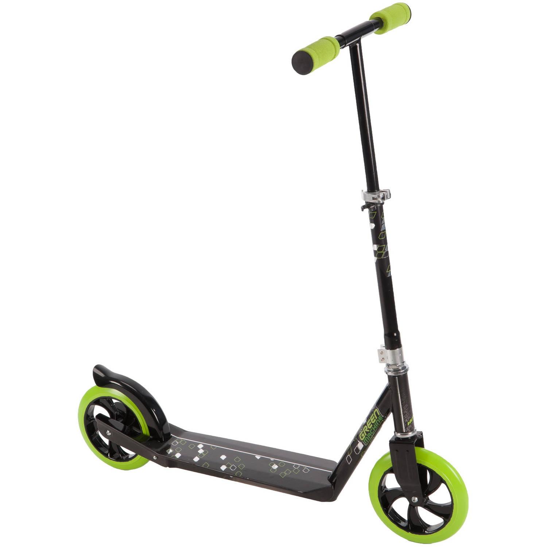 Huffy Green Machine Inline Folding 2-Wheel Cruz'n Scooter by Huffy
