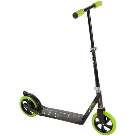 Huffy Green Machine Folding Pro Kick Scooter for Kids
