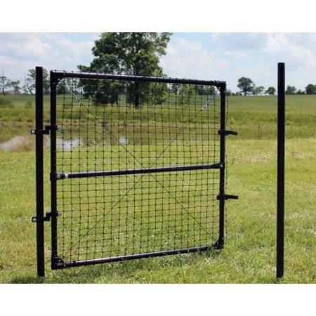 4'h X 6'w Dog Fence Access Gate](Dog Fence Diy Halloween)