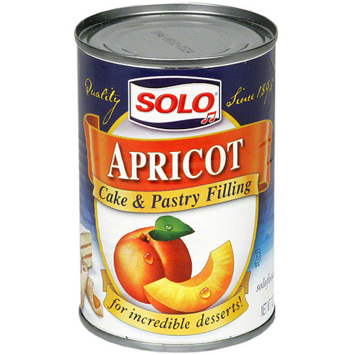 Solo Apricot Filling, 12 oz (Pack of 6)