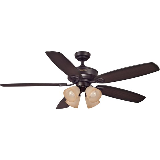 Walmart Ceiling Fans : Honeywell quot marston bronze ceiling fan with remote