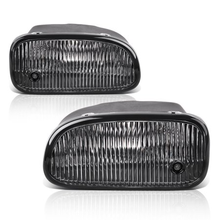 Fog Lights For Jeep Grand Cherokee 1999 2000 2001 2002 2003 (OE Style Clear Lens w/ H12 12V 53W