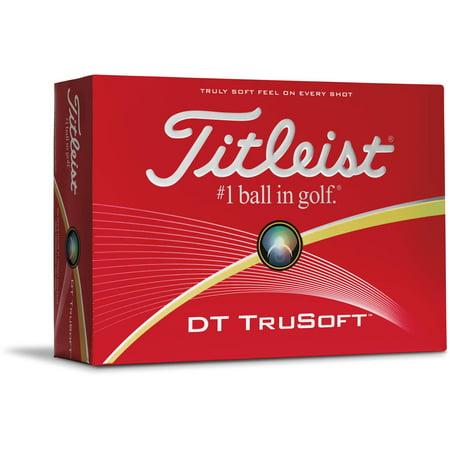 Titleist DT TruSoft Golf Balls - 12-Pack