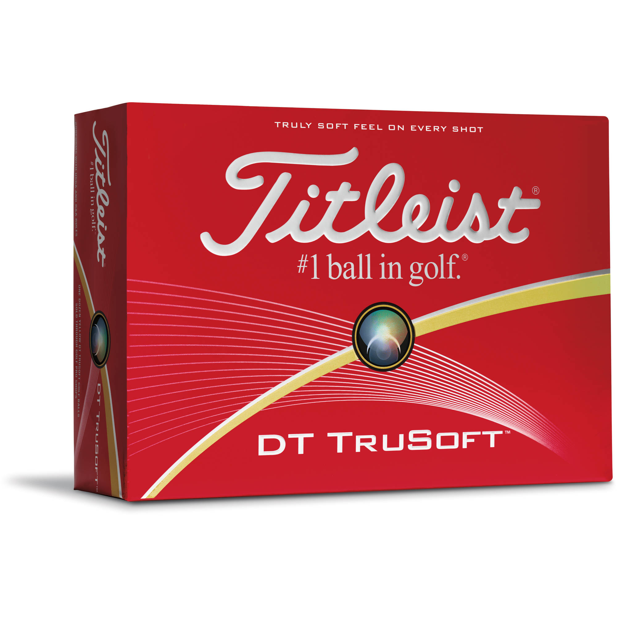 Titleist DT TruSoft Golf Balls - Prior Generation